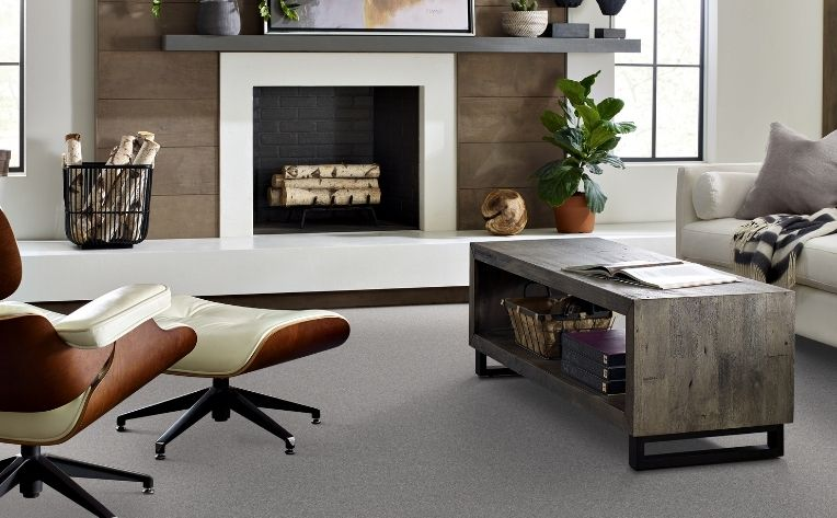 dark gray carpet flooring living room
