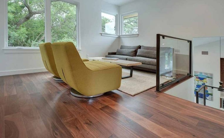 Loft Chestnut Medium-Colored Hardwood Flooring