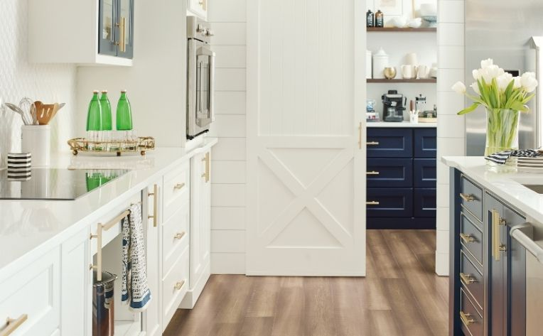 kitchen farmhouse hardwood flooring