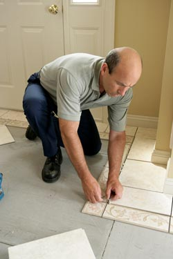 Tile Floor Installation in Middletown